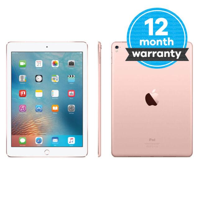 Apple iPad Pro 32GB, Wi-Fi + Cellular (Unlocked), 9.7in - Rose Gold