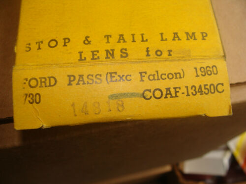 A pair of 1960 Ford tail light lenses D 21