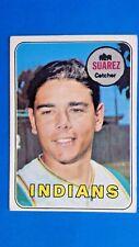 1969 Topps Ken Suarez Cleveland Indians #19 Baseball Card