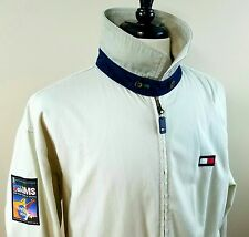 Rare 90s vintage Tommy Hilfiger Vh1 jacket Rock to erase MS khaki / tan Large