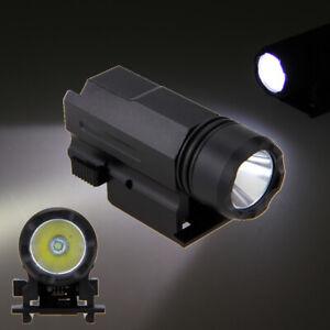 3000LM-XPG-R5-LED-Linterna-antorcha-Pistola-Tactica-ajuste-Weaver-Picatinny
