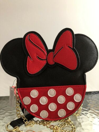 Loungefly Ears Jurk Tas Disney Dot Nwt Minnie Crossbody Mouse Polka 8NOPXkn0Zw