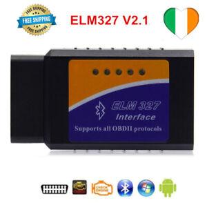 ELM327 Bluetooth V2.1 Auto OBD2 OBDII Strumento scanner diagnostico