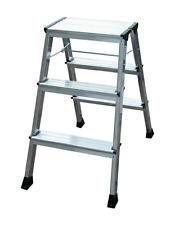 Krause MONTO Doppel-KlappTritt ROLLY 2 x 3 Alu Doppelleiter Leiter 3 Stufen