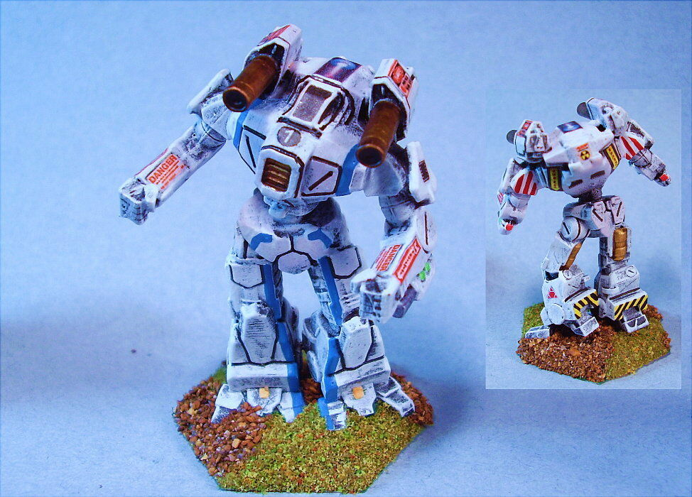 Battletech painted Tian-Zong battlemech CG
