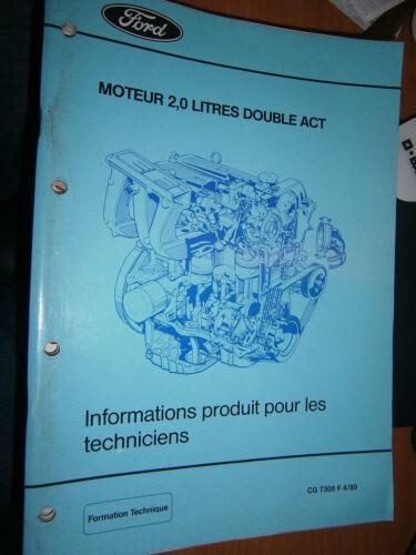 Ford documentation Ford présentation moteur 2.0 double ACT CG7308