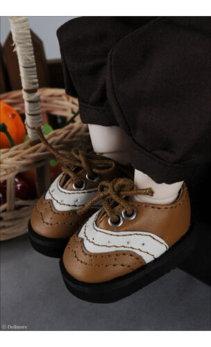 Malang loafer 1//6 BJD YOSD USD  Dear Doll Size Dollmore Brown