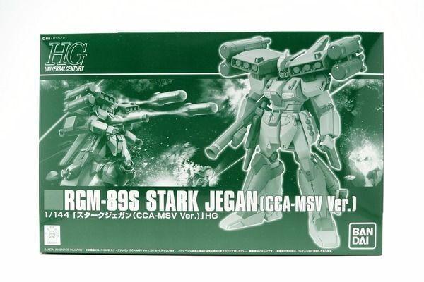 BANDAI HGUC 1  144 RGM -89S stjärnaK JEGAN CCA -MSV Ver Plastic modellllerler Kit New japan