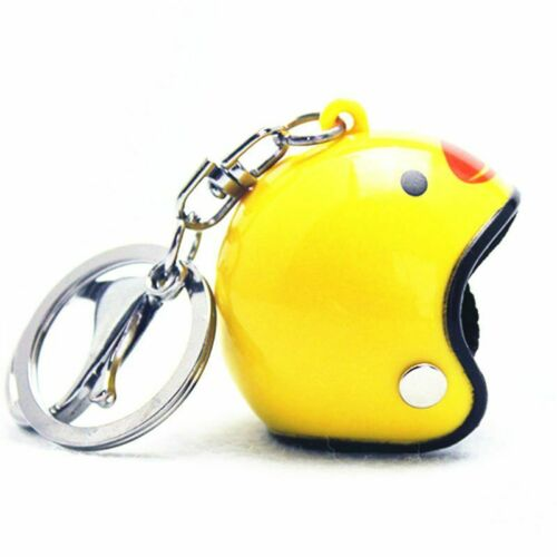 Funny Yellow Duck With Helmet Bicycle Bell Ring  Bike Ride Horn Kids Adult Toy