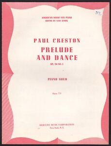 Miniature 1953 piano solo ed Kalafati Prelude in Bb minor Leo Podolsky