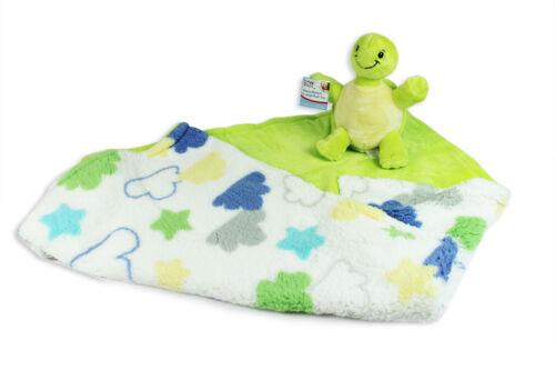 Super Suave Bebé Manta Con Peluche Juguete Regalo De Lujo recién nacido bebé ducha Vivero