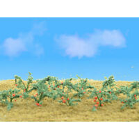 "Tomato Plants 1-1 2"" Tall 12 Pack Flowering Plants O Scale JTT Scenery Products Toys"