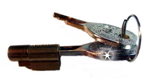 PKW Anhänger Diebstahlsicherung Diebstahl Schutz Stiftschloss 2 Schlüssel Neu