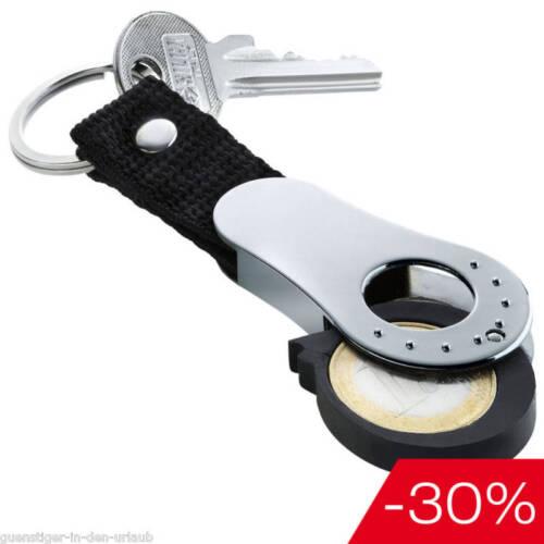 Porte clé avec porte cle /& Compartiment Pièce de Monnaie puce
