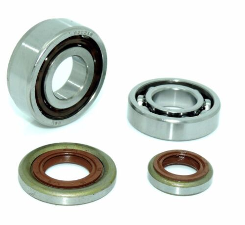 COMPATIBLE STIHL MS261 CRANKSHAFT BEARINGS AND OIL SEALS NEW
