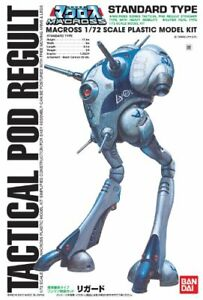 PSL-BANDAI-MACROSS-1-72-SCALA-Tactical-Pod-regult-One-Man-Giappone-TIPO-STANDARD
