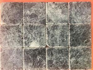 Pietra Verde Rivestimento : Piastrelle mosaico 10x10 in pietra marmo verde alpi per