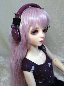 BJD Doll Dollfie Soundplay 1/4 1/6 Scale SD Headphones 7 Days Purple MSD Mini