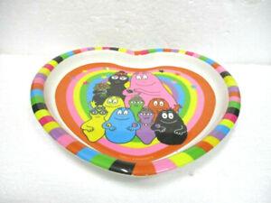 Assiette Plate Coeur Barbapapa DernièRe Mode