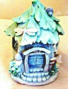 Latex-fairy-house-mold-with-plastic-backup-7-5-034-H-x-5-034-x-5-034