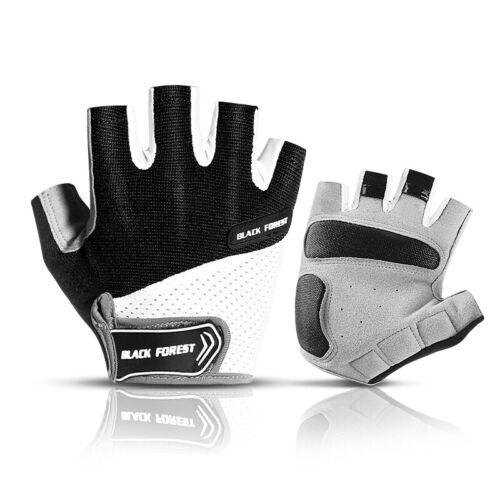 Cycling Half Finger Short Gloves Shockproof Breathable MTB Bike Gloves for Men
