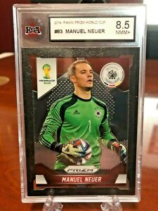 Panini Prizm Fifa World Cup 2014 Manuel Neuer Base #83 - KSA 8.5 NMM+ Germany