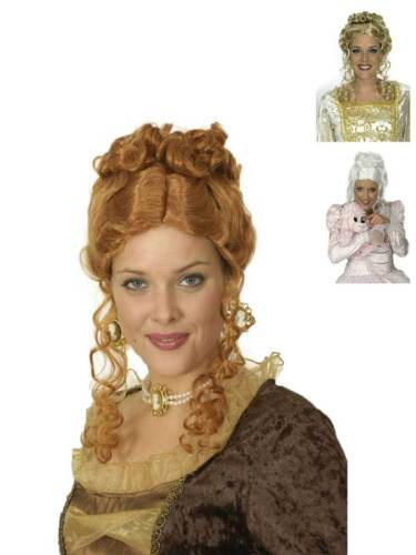 Perruque sanssouci baroque meringue attirées nobles