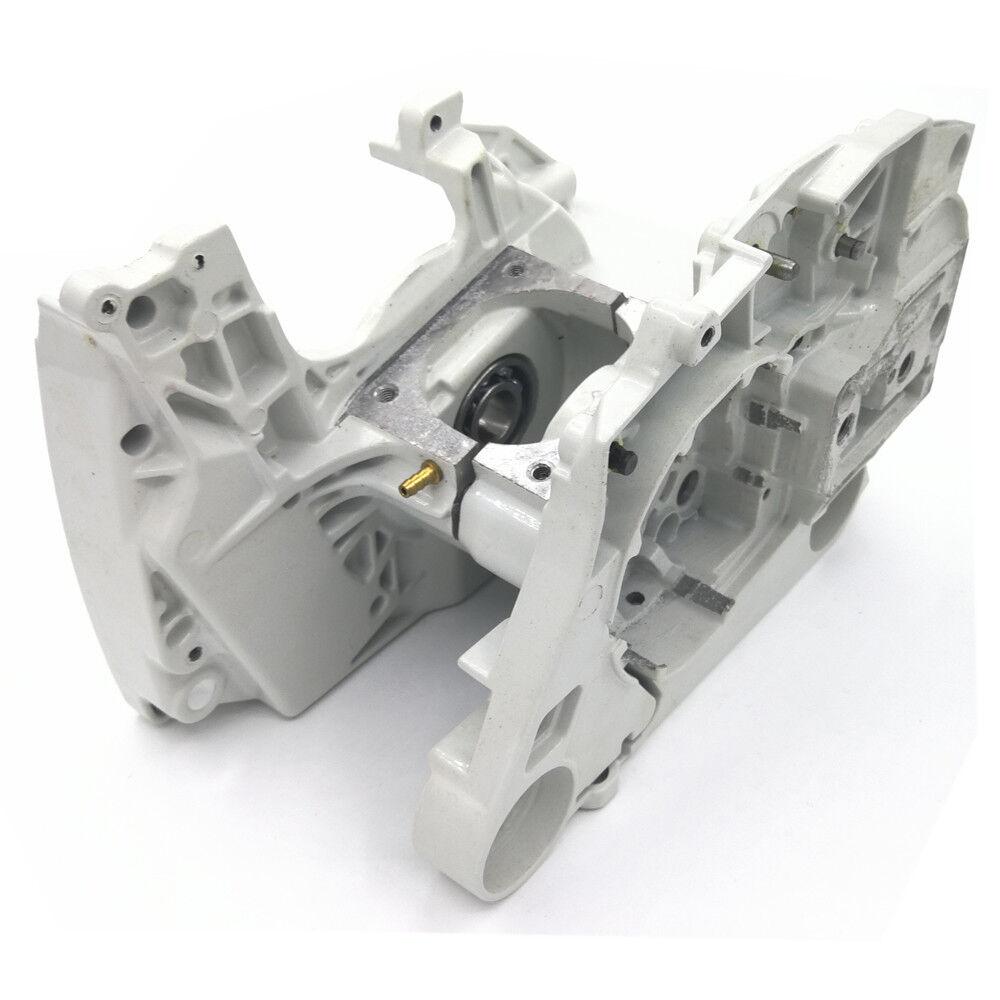 CocheCASA de aluminio del cárter del motor Ajustador De Cadena Para Motosierra Stihl MS440 044