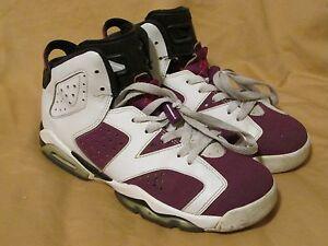 sale retailer c16d7 07005 Image is loading Nike-Air-Jordan-Retro-6-White-Grape-Pink-