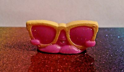 Shopkins TONI TOPPER Pink Glitter Glamour Squad Exclusive Mint OOP