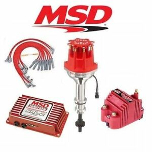 image is loading msd-ignition-kit-programmable-6al-2-distributor-wires-