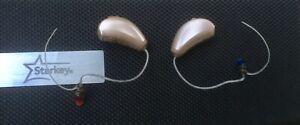 Starkey-Xino-i30-Wireless-RIC-Hearing-Aids-in-Perfect-Condition