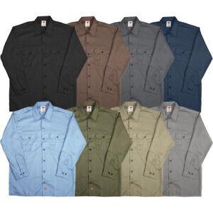 Dickies-Men-039-s-Longsleeve-Work-Shirt-Style-574