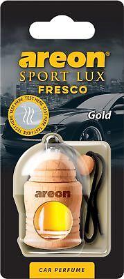 3x Originale Areon Fresco Profumo Per Auto Albero Profumato Deodoranti Lux Oro