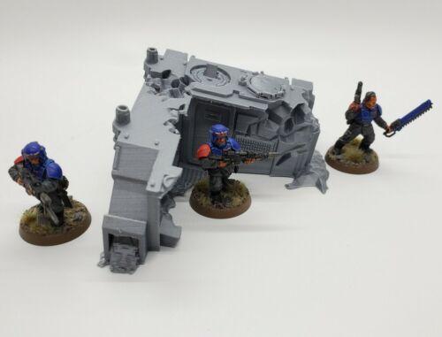 3D Printed 40K//Kill Team Scenery//Objective Marker Space Marine Rhino Wreck