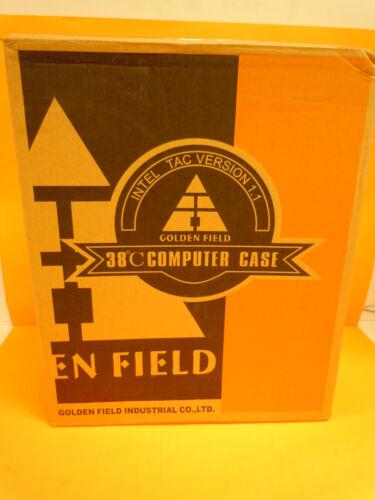 Golden Field HTPC Slim Tower MicroATX Desktop PC Case