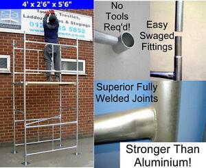 Bricolage-echafaudage-tower-4-039-x-2-039-6-034-x-11-039-6-034-3-5m-wh-en-acier-galvanise
