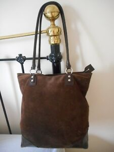 f046657109b8 Mulberry Net A Porter Genuine Brown Suede Leather Shoulder Bag + ...