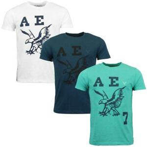 Mens American Eagle Leopard Print Woodland Camouflage T-Shirts Sizes S XL L