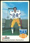 1970 OPC O PEE CHEE CFL FOOTBALL 70 ED ULMER EX WINNIPEG BLUE BOMBERS OHIO STATE