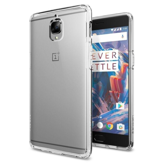 info for 60b1b 578cc Spigen OnePlus 3 Ultra Hybrid Air Cushion Crystal Clear Premium Case  -k03cs20616