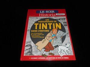 Le-Soir-Historia-Hors-serie-Les-personnages-de-Tintin-dans-l-039-histoire