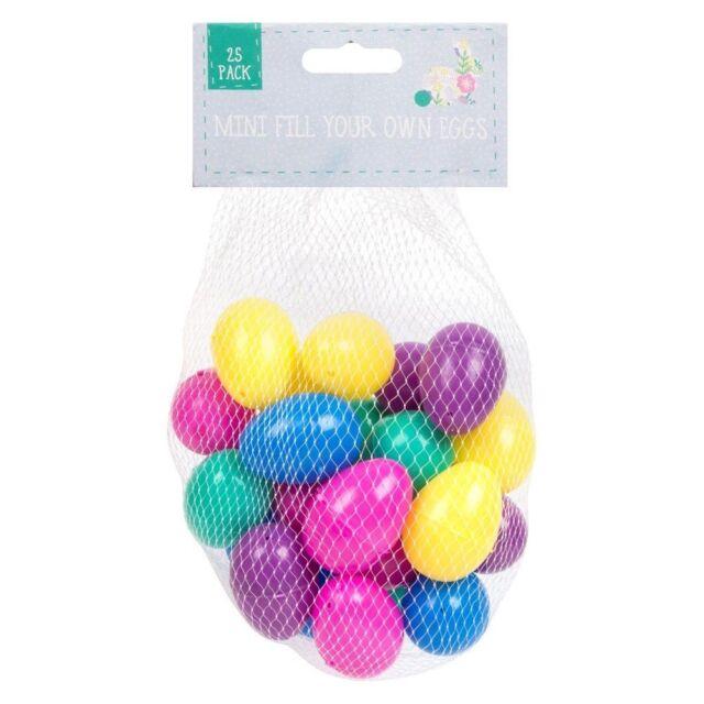 Fill Your Own Easter Eggs - 50 Eggs     2 25 Packs  - Egg Hunt