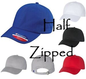 02e9bc999dace Image is loading Champion-Baseball-Hat-Washed-Twill-Dad-Cap-CS4000