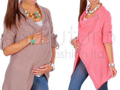 Aus Dem Ausland Importiert Maternity Warm Cardigan Thick Pregnancy Waterfall Poncho Blazer Coat Mv180