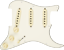 Genuine-Fender-Pre-Wired-Strat-Pickguard-Hot-Noiseless-SSS-Parchment thumbnail 3