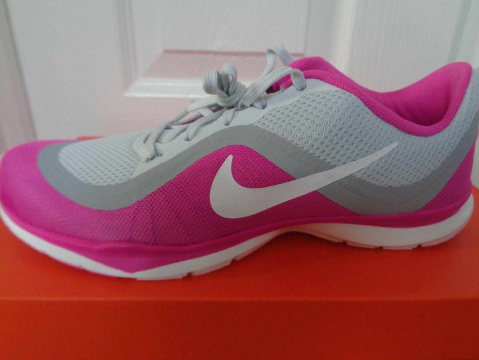Nike Flex trainer 6 wmns uk trainers shoes 831217 005 uk wmns 7 eu 41 us 9.5 NEW+BOX a24da1