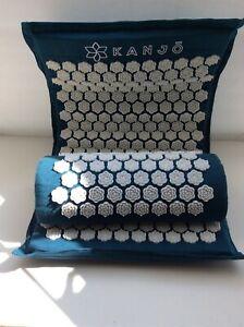 KANJO Mat Pillow Set Royal Blue Accupressure Pain Relief ...