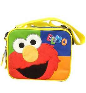 Details about Sesame Street Elmo Insulated Lunch Bag Lunch Box, New