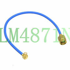 SMA male to SMP female microwave RG405 flexible RF coaxial 6inchs cable Low Loss